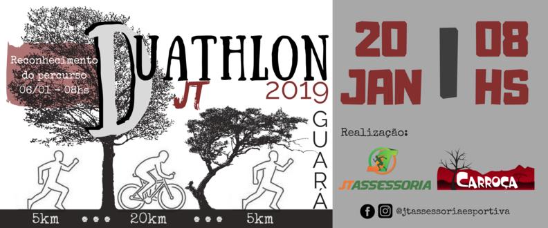 2º Duathlon JT - Guará/2019