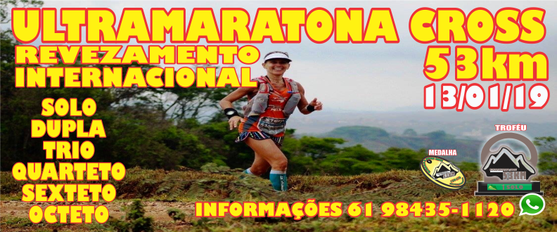 ULTRAMARATONA CROSS INTERNACIONAL 53KM