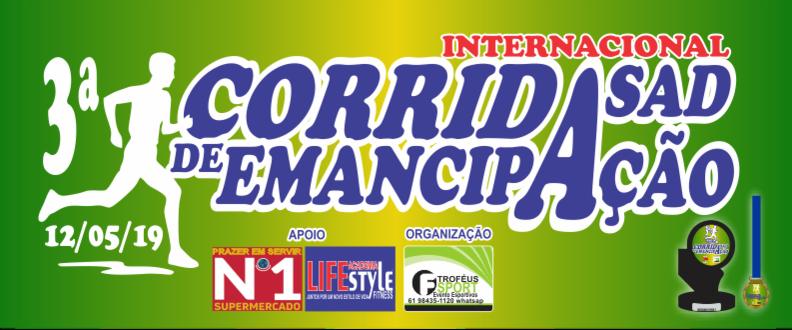 3ª CORRIDA INTERNACIONAL DE EMANCIPAÇÃO