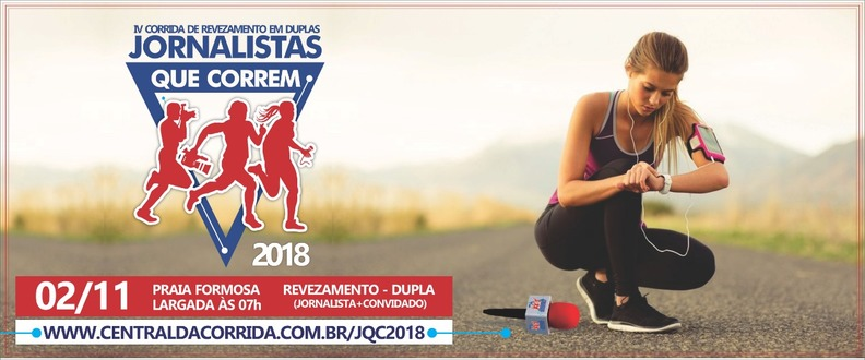 JORNALISTAS QUE CORREM 2018