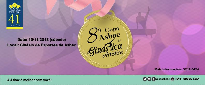 8ª Copa Asbac de Ginástica Artística