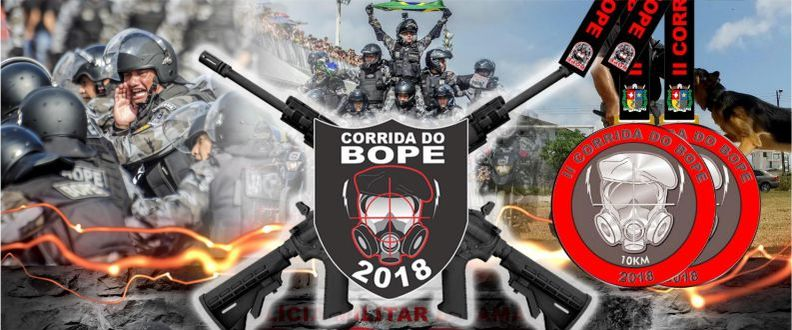 II CORRIDA DO BOPE 2018