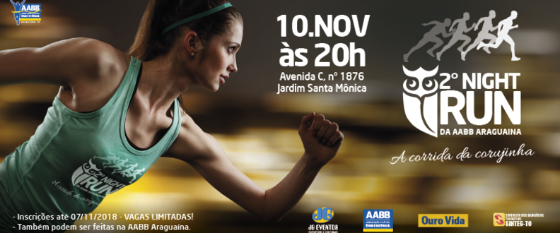 II NIGHT RUN DA AABB ARAGUAÍNA
