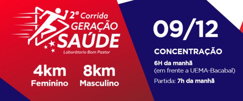 2ª CORRIDA GERAÇÃO SAÚDE BOM PASTOR