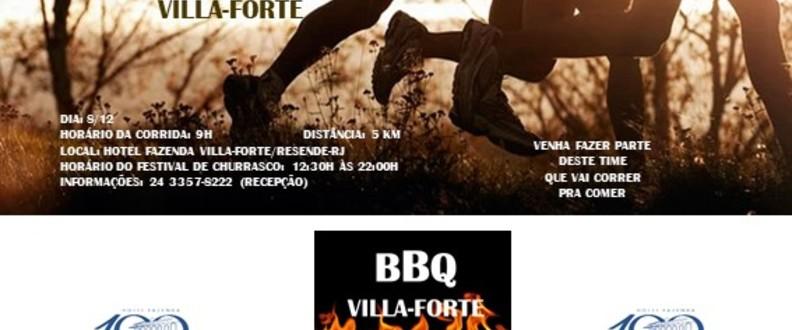 Corrida Para o BBQ Villa-Forte