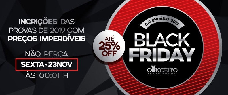 BLACK FRIDAY CORRIDAS 2019