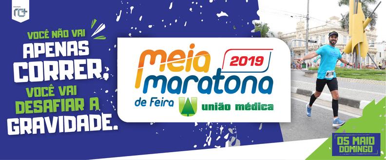 MEIA MARATONA DE FEIRA UNIÃO MÉDICA 2019