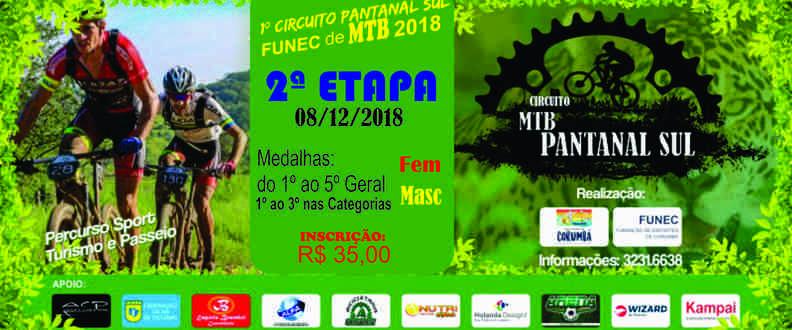 2ª ETAPA - Circuito Funec Pantanal Sul de MTB