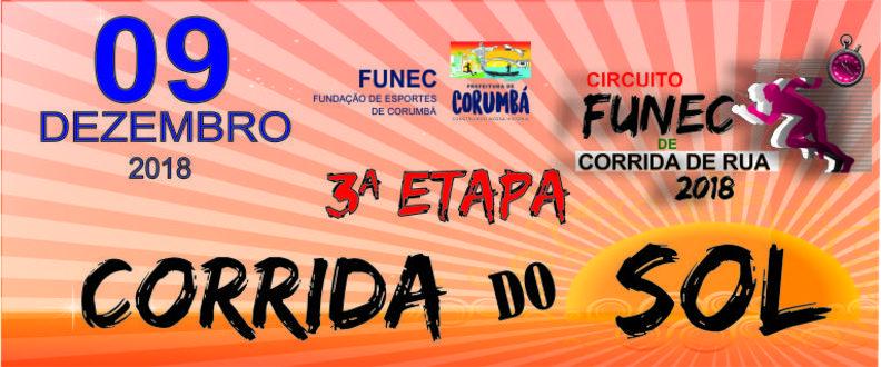 3ª ETAPA - CORRIDA DO SOL