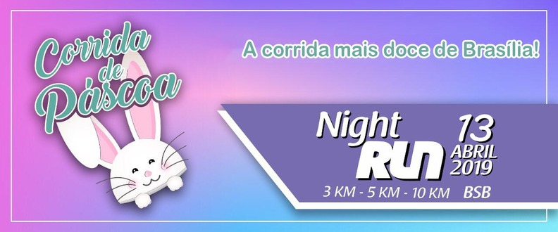 Corrida de Páscoa Night Run