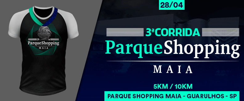 3ªcorrida shopping maia