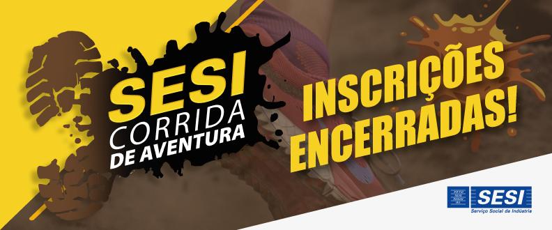 SESI CORRIDA DE AVENTURA (com obstáculos)