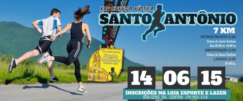 XXV Corrida Rústica Santo Antônio