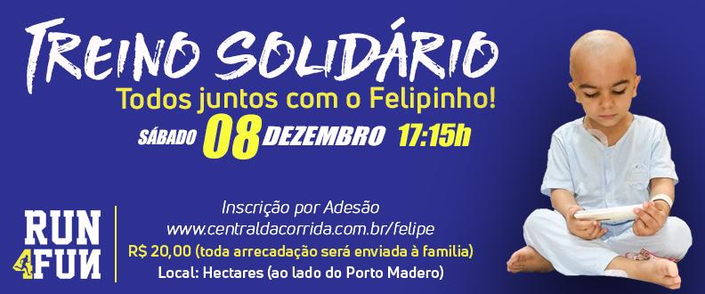 Treino Solidário - Felipinho