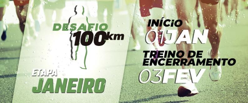 DESAFIO 100KM - ETAPA JANEIRO / 2019