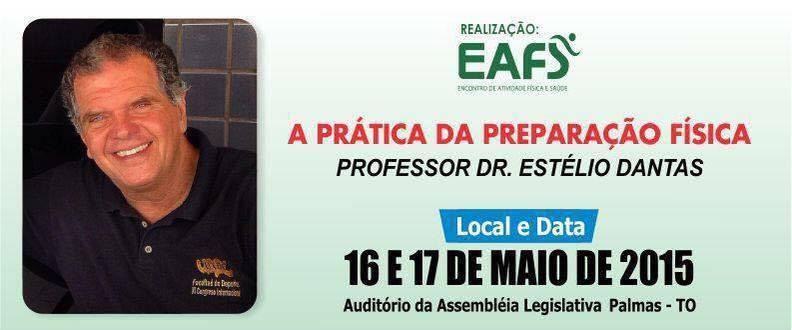 A prática da preparação física  Dr. Estélio Dantas