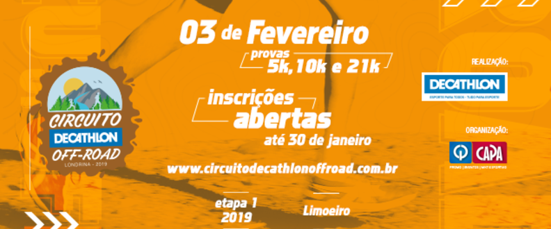 Circuito Decathlon Off Road – 1º Etapa2019