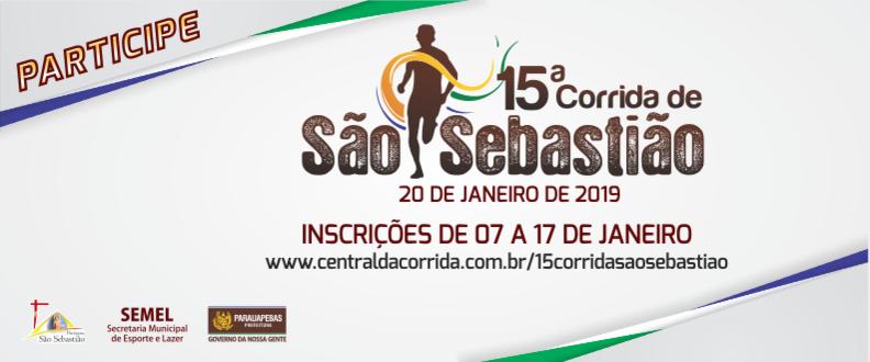 15ª CORRIDA SÃO SEBASTIÃO - PARAUAPEBAS/PA