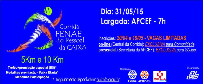 CORRIDA FENAE DO PESSOAL DA CAIXA 2015