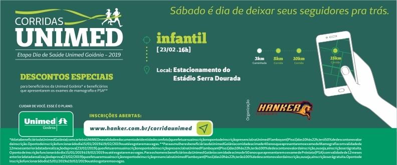 Corrida Infantil Unimed - 2019