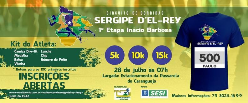 CIRCUITO DE CORRIDAS SERGIPE D'EL-REY (1a. Etapa)