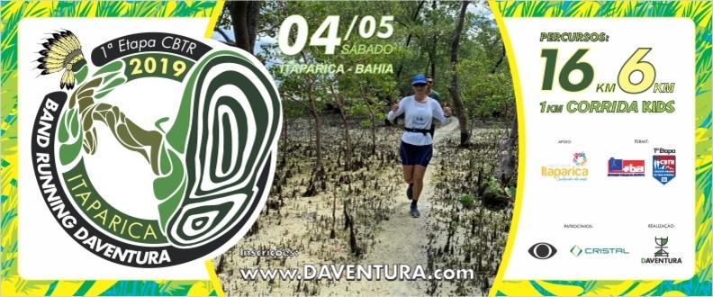 RUNNING DAVENTURA 2019 - ITAPARICA: A ORIGEM!