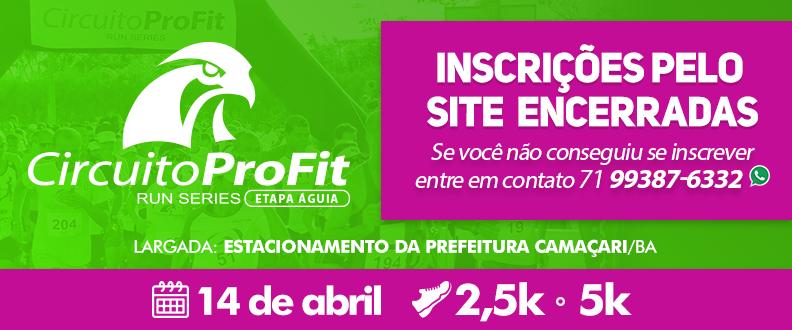 Circuito ProFit Run Series - Etapa Águia