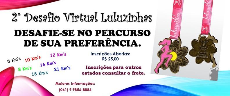 2° Corrida Vitual - Luluzinhas