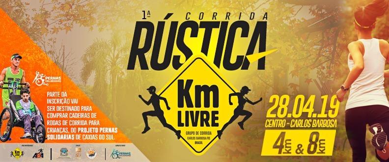 1º Rustica KM Livre de Carlos Barbosa/RS