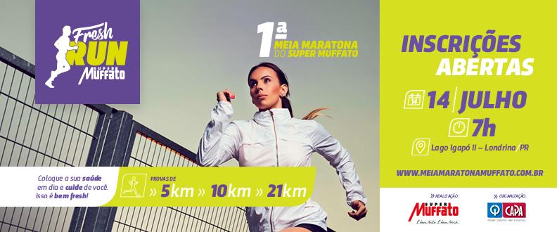 Meia Maratona Muffato Fresh Run 2019