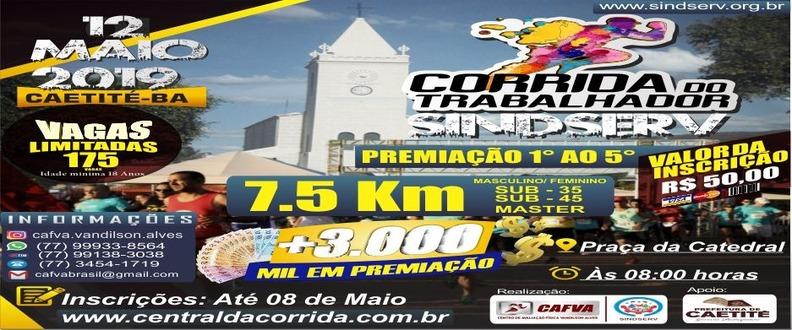 CORRIDA DO TRABALHADOR SINDSERV