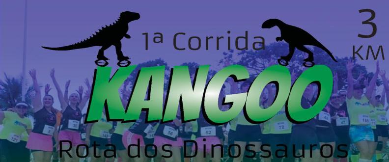 1º CORRIDA DE KANGOO ROTA DOS DINOSSAUROS