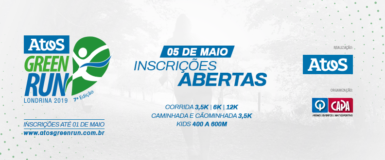 ATOS GREEN RUN 7- COLABORADOR/2019