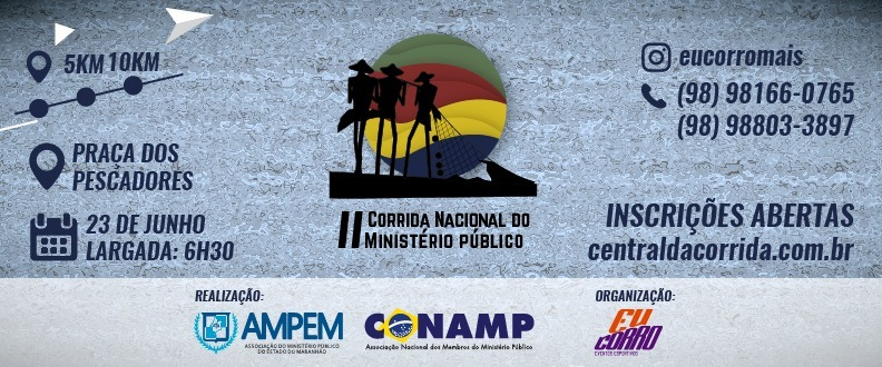 II CORRIDA NACIONAL DO MINISTÉRIO PÚBLICO
