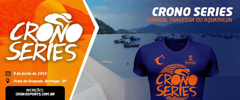 Crono Series: Travessia, Aquathlon ou Corrida