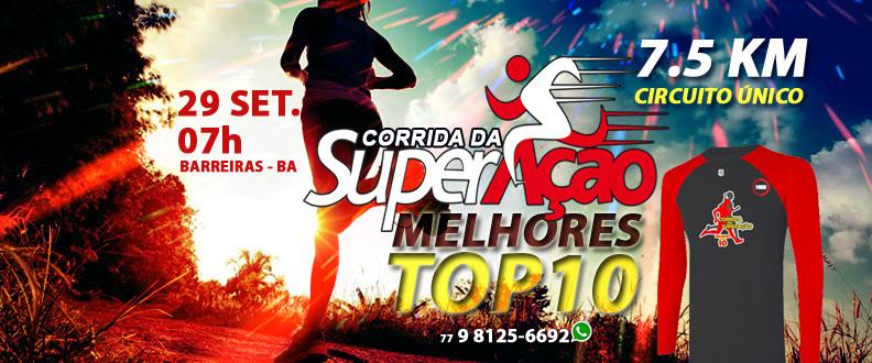 CORRIDA DA SuperAção TOP 10 7.5 KM