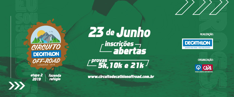 Circuito Decathlon Off Road – 2º Etapa 2019