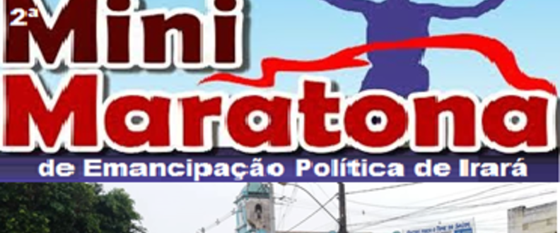 2ª MINIMARATONA DE IRARÁ