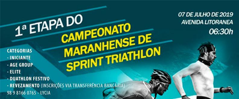 1ª ETAPA - CAMP MARANHENSE DE SPRINT TRIATHLON