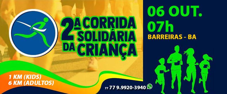 2ª CORRIDA SOLIDÁRIA DAS CRIANÇAS