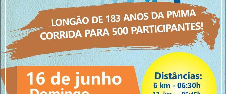 Longão 183 anos da PMMA