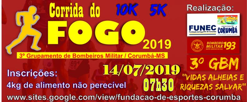 CORRIDA DO FOGO - 2019