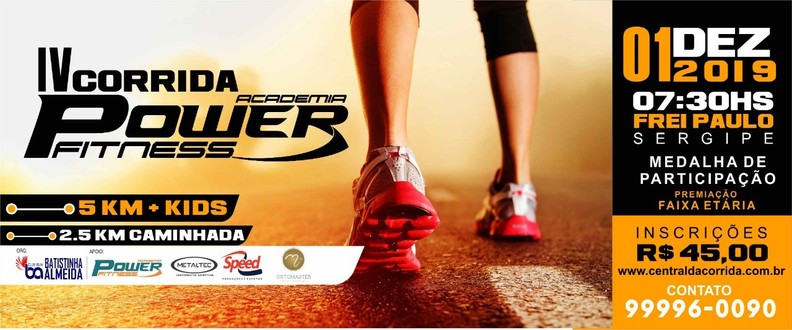 IV Corrida Academia Power Fitness