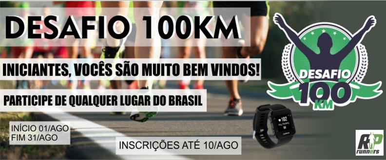 DESAFIO 100 KM ETAPA AGOSTO