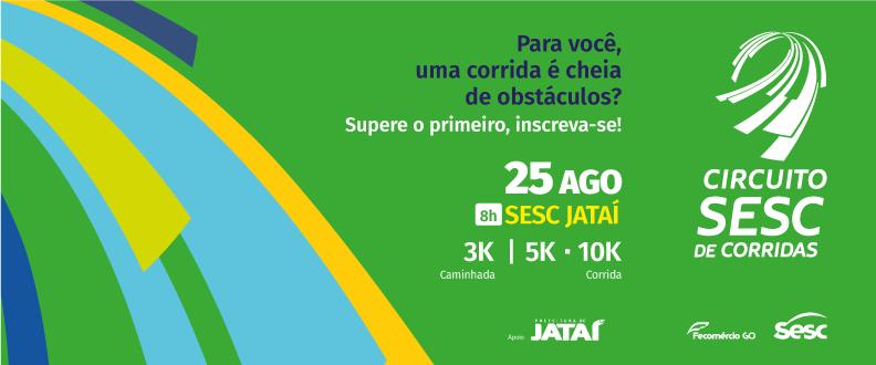 Circuito SESC de Corrida 2019 – Etapa Jataí