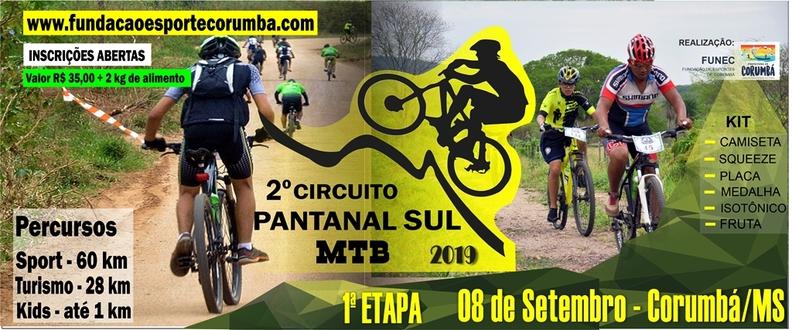 1º ETAPA - Circuito FUNEC Pantanal Sul de MTB 2019