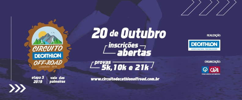 Circuito Decathlon Off Road – 3º Etapa 2019