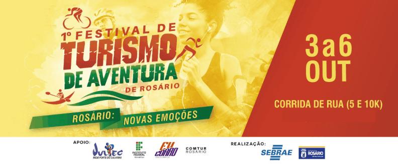 CORRIDA DE RUA - 1º FEST. TURISMO AVENT. ROSÁRIO