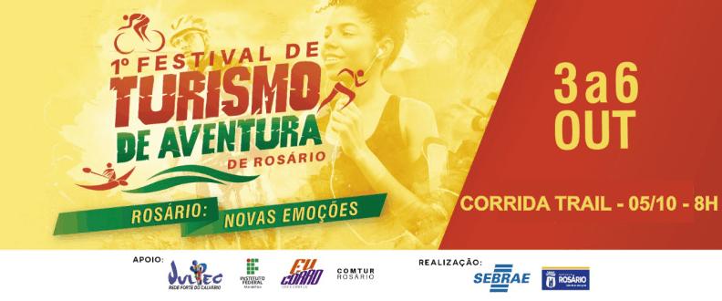 CORRIDA TRAIL - 1º FEST. TURISMO AVENT. ROSARIO