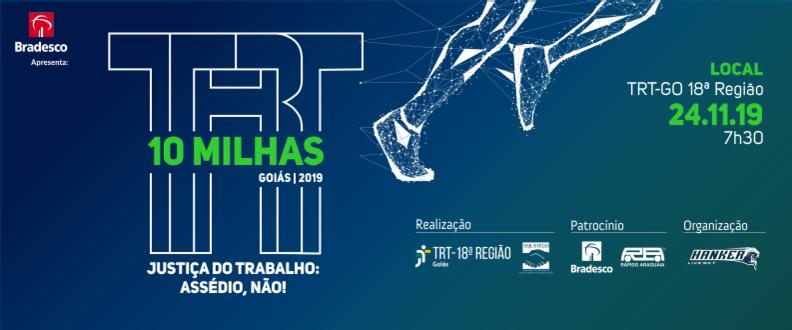 10 Milhas TRT Goiás 2019